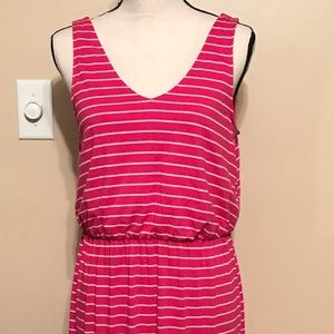 Faded Glory size medium 8-10 pink and white